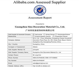 SINO GROUP Bureau Veritas And SGS Certification