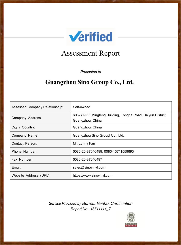 SINO Bureau Veritas Certification