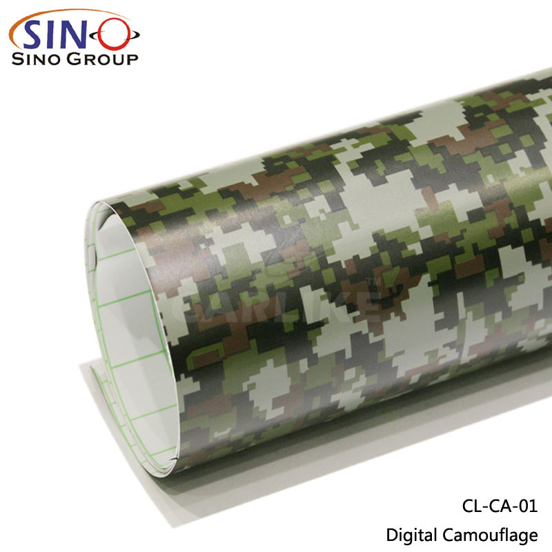 CARLIKE CL-CA Camouflage Sticker Car Body Vinyl Film