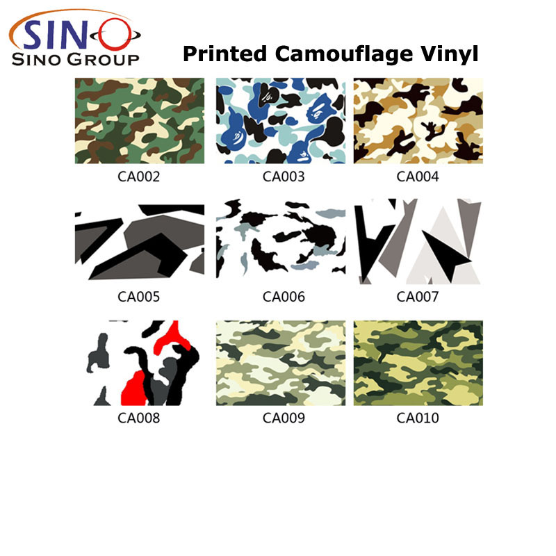 CARLIKE CL-CA Multiple Colors Printed Camouflage Vinyls