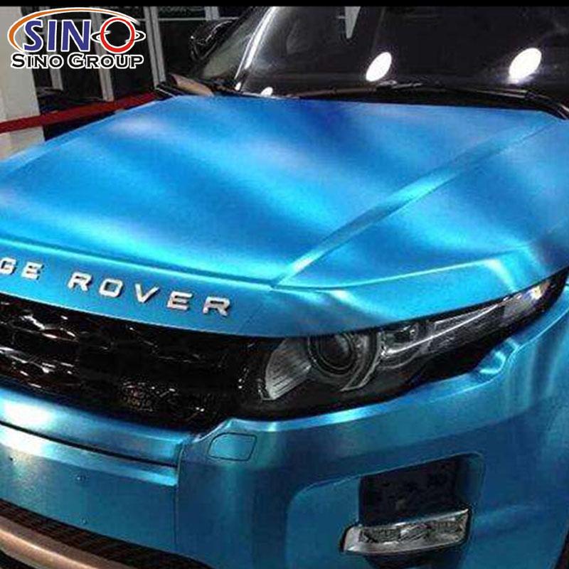 CARLIKE CL-CB Chrome Metallic Aluminum Brushed Decoration Vinyl Car Wrap