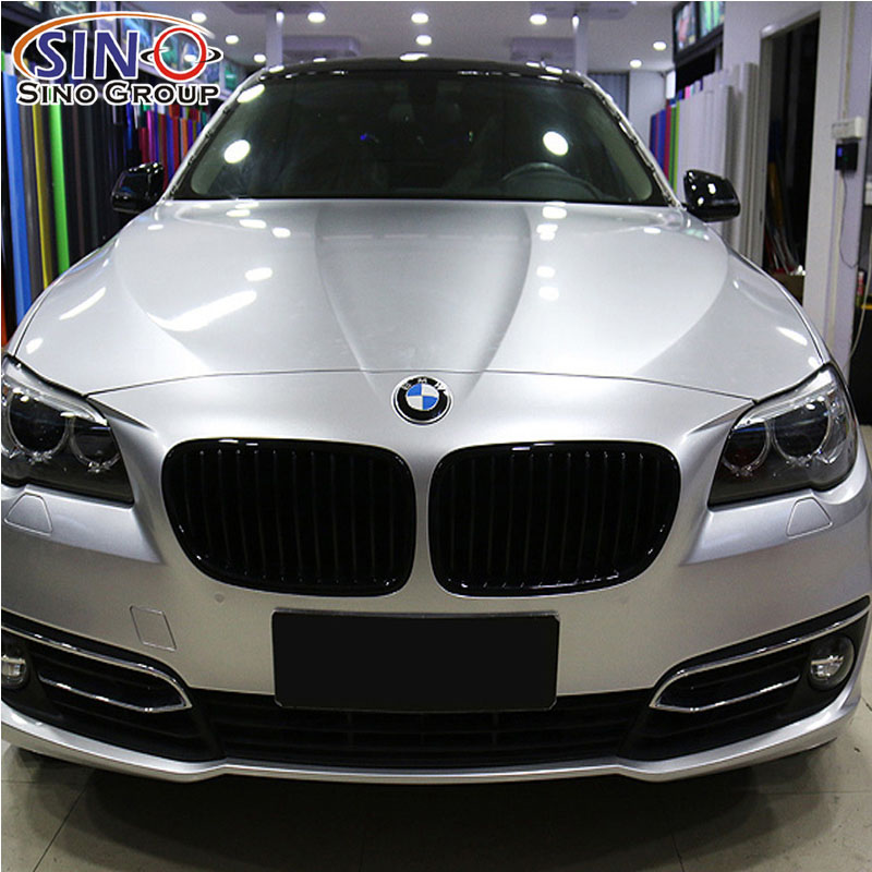 CARLIKE CL-CG Glossy Chrome Metallic Car Wrap Vinyl Film