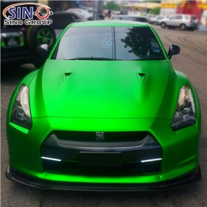 CARLIKE CL-CM Matte Chrome Car Body Vinyl Wrap