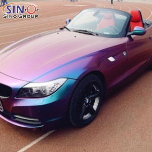 CL-CV Chameleon Color Changing Vinyl Wrap Car