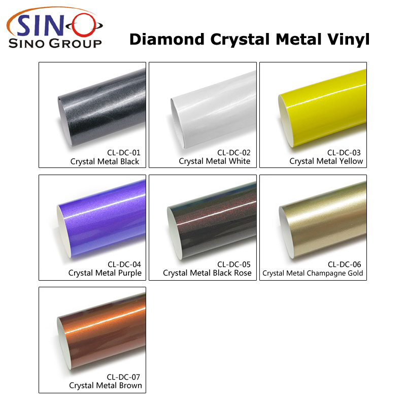 CARLIKE CL-DC Diamond Crystal Metal Car Body Sticker Vinyl Wrap