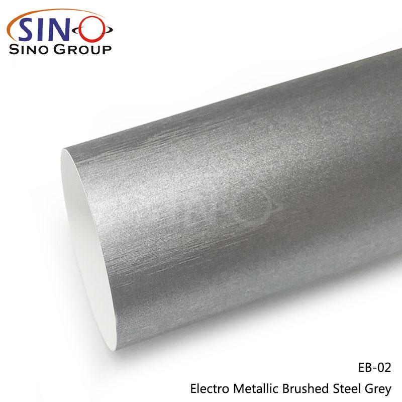 CARLIKE CL-EB Matte Brushed Electro Metallic Car Wrap Vinyl