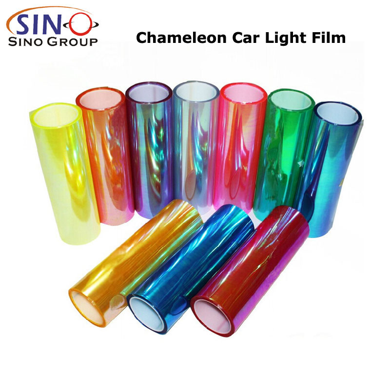 CL-HL-CM Chameleon Headlight Tint Color Vinyl Sticker