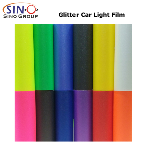 CL-HL-GL Glitter Car Headlight Taillight Tint Film