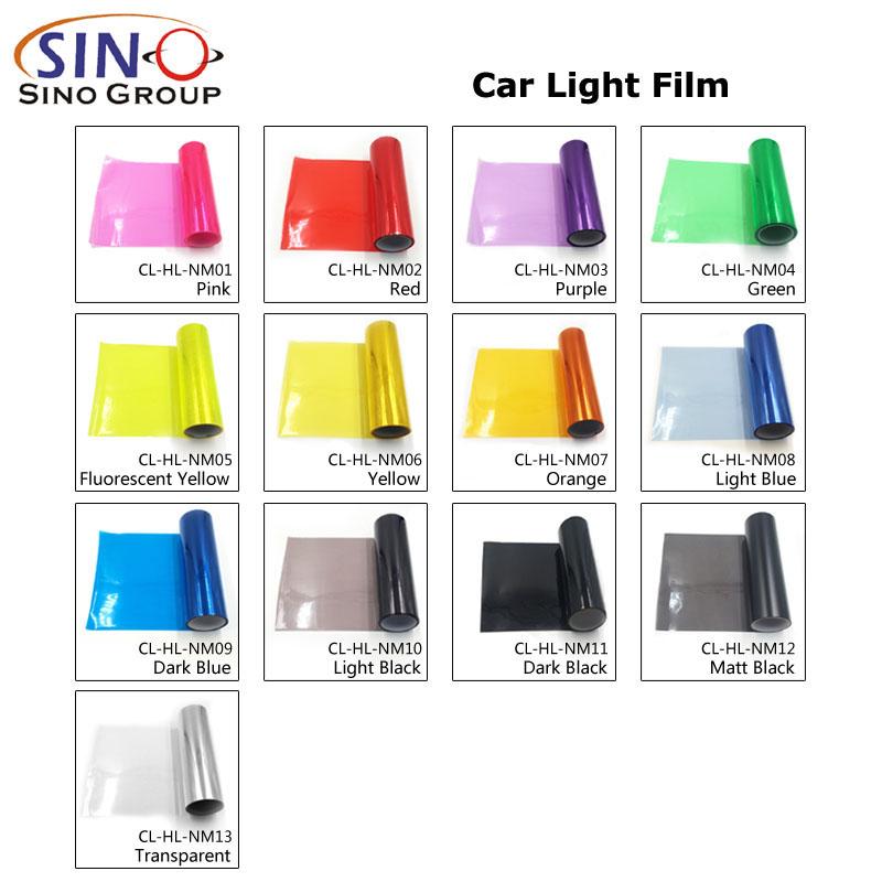 CARLIKE CL-HL-NM Car Headlight Taillight Tint Film
