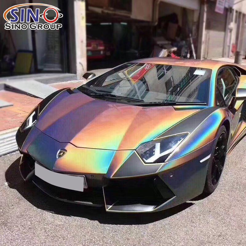 CARLIKE CL-IL Iridescence Laser Glitter Car Wrap Vinyl Sticker