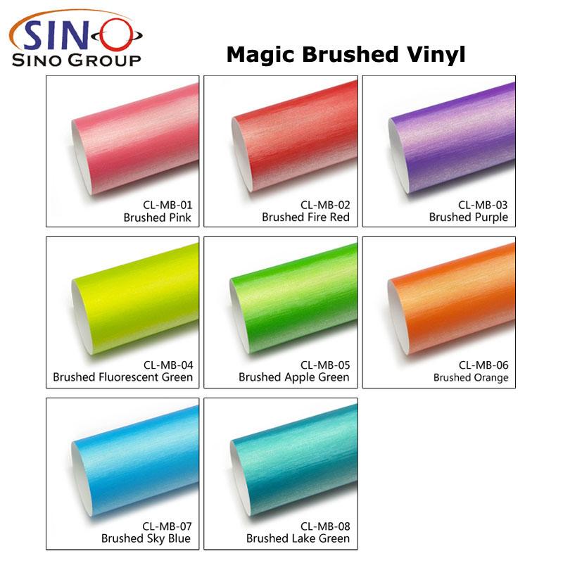 CARLIKE CL-MB Magic Brushed Air Bubble Wrap Vinyl Car Material