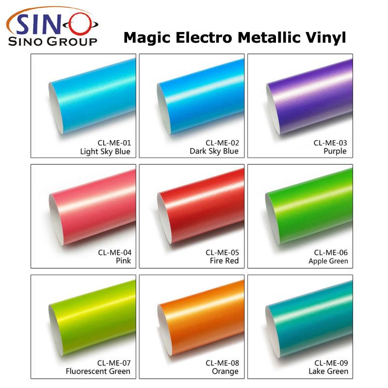 CARLIKE CL-ME Magic Electro Metallic Vehicle Wrap Sticker