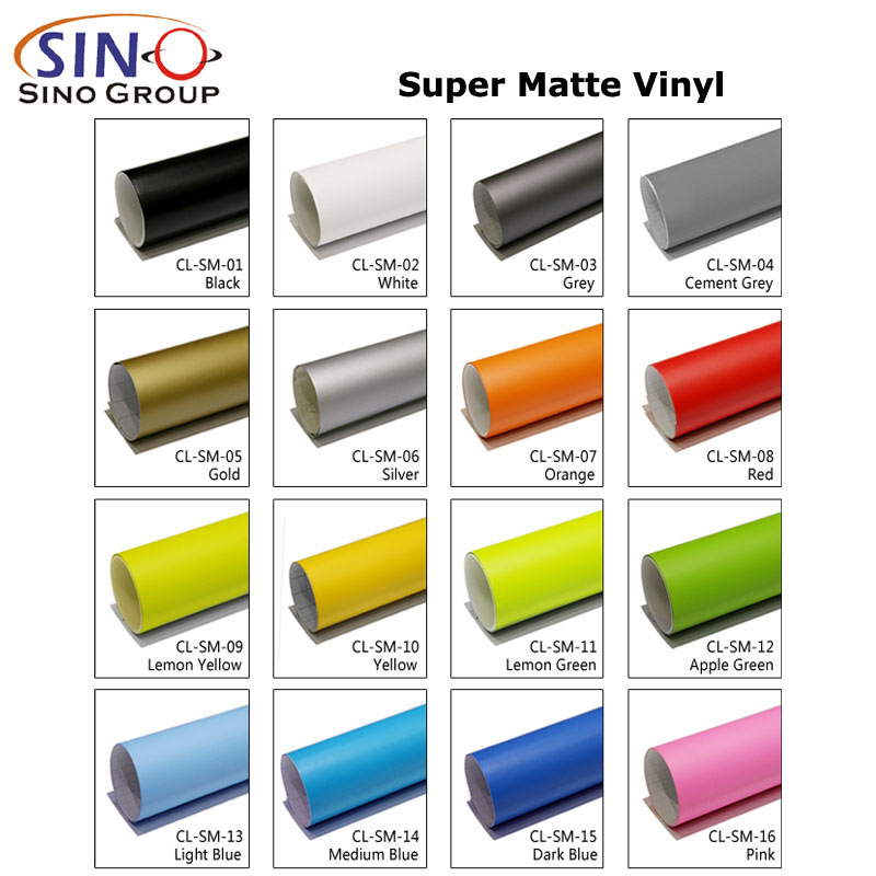 CARLIKE CL-SM Super Matte Car Body Vinyl Wrap