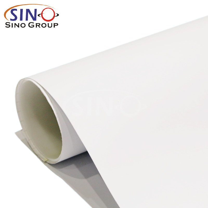 White Glue Self Adhesive Vinyl For Large Format Digital Printing