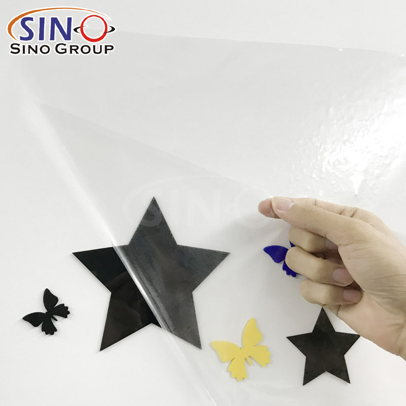 Application Transfer Vinyl Film Paper For Color PVC Cutting Vinyl