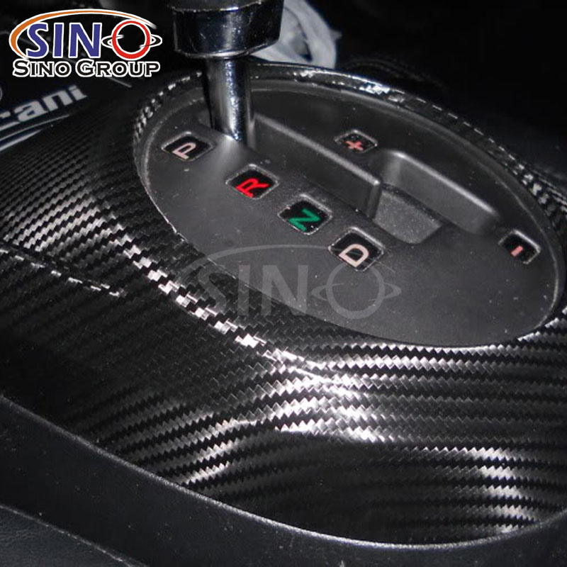 CL-3DCF 3D Self Adhesive Carbon Fiber Vinyl Sticker