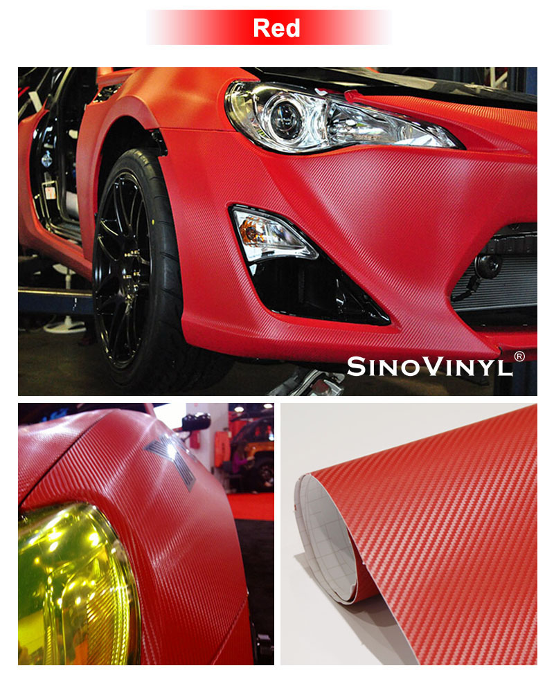 CARLIKE CL-3DCF 3D Self Adhesive Carbon Fiber Vinyl Sticker