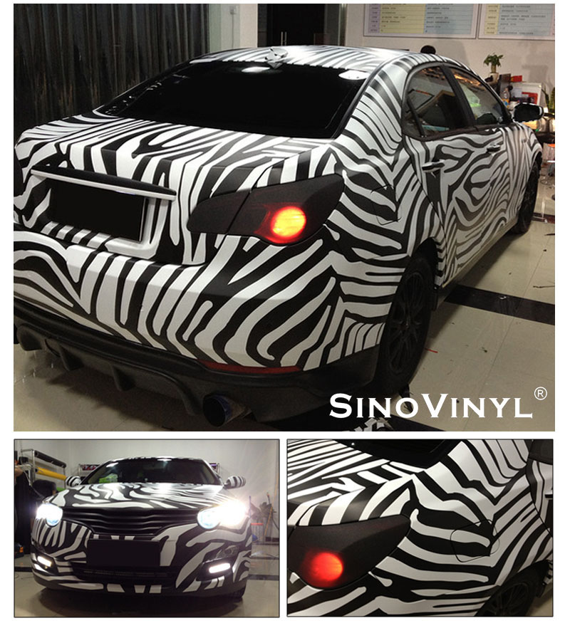 CARLIKE CL-AS Animal Skin Vinyl Car Wrapping Stickers