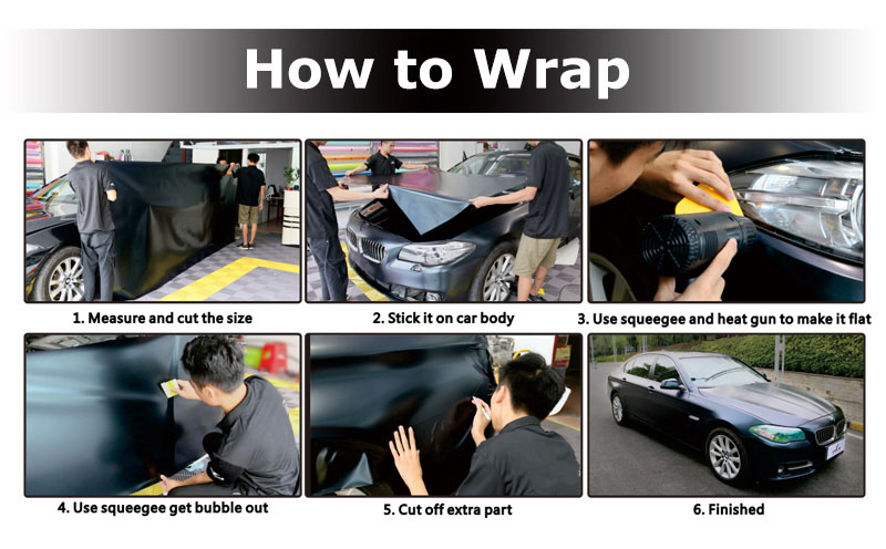 CARLIKE Premium+ Car Wrapping Vinyl How To Wrap