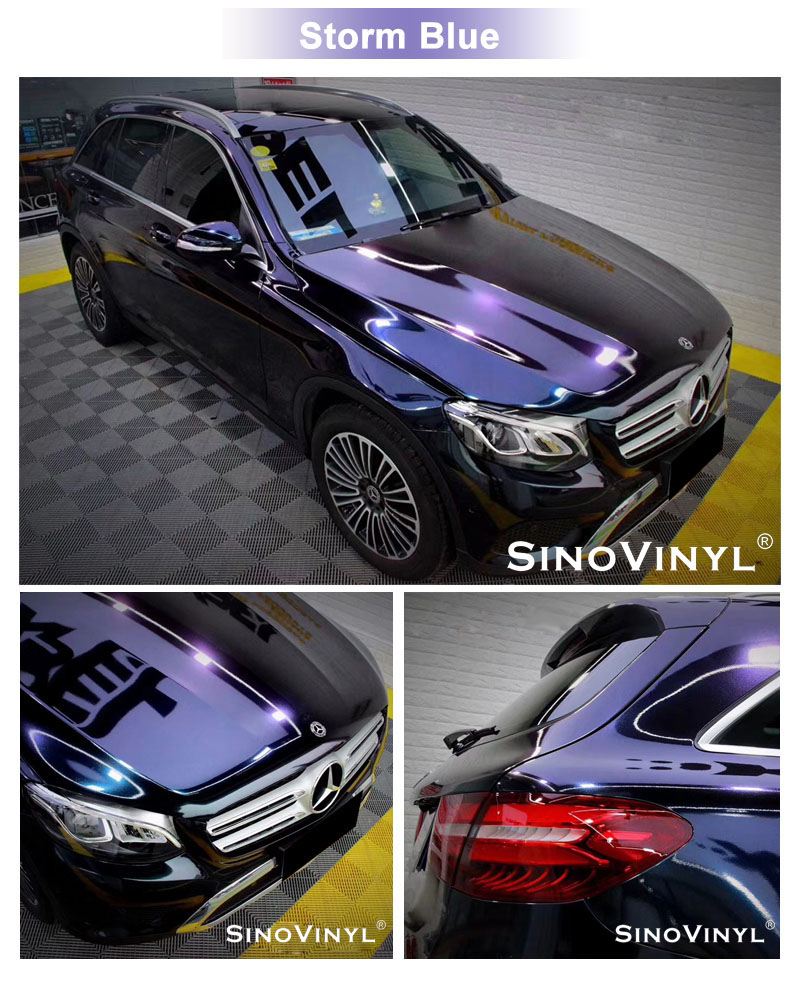 CARLIKE CL-GE Gloss Electro Metallic Vinyl Car Wraps