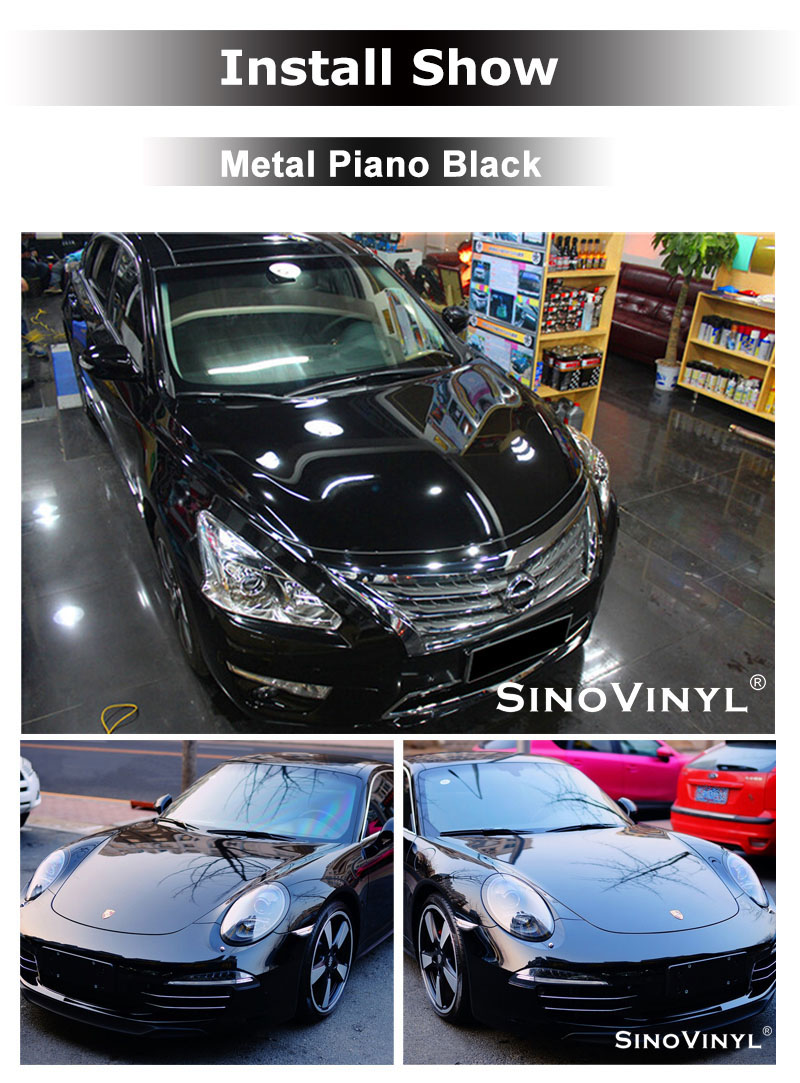 CARLIKE CL-GM Super Gloss Piano Car Wrap Vinyl Roll