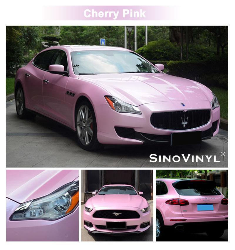CARLIKE CL-MA Macaron Vinyl Car Body Wrap Sticker