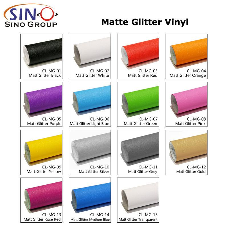 CARLIKE CL-MG Matte Glitter Sparkle Car Wrap Vinyl
