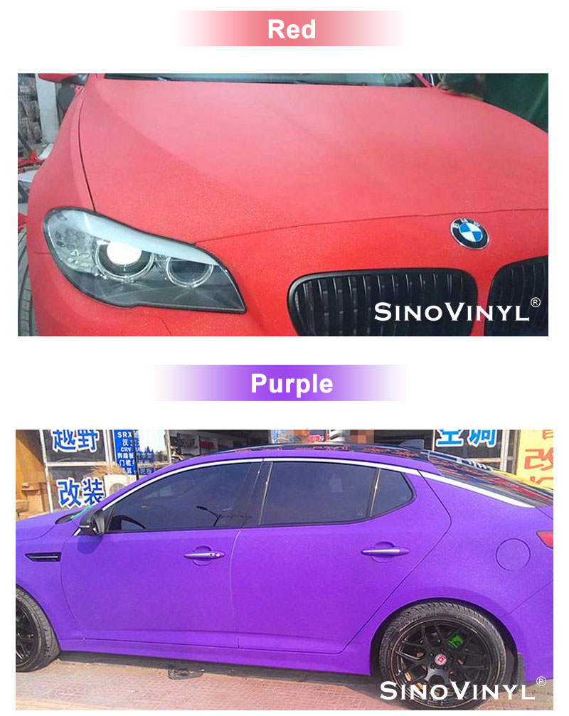 CARLIKE CL-MG Matte Glitter Sparkle Car Wrap Vinyl