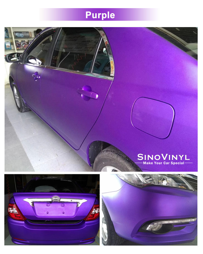 CARLIKE CL-SC Super Matte Chrome Ceramics Car Body Wrap Vinyl