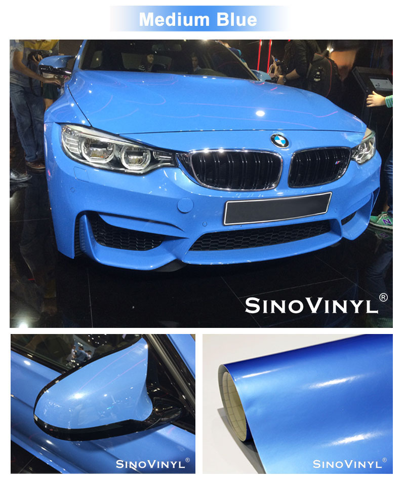 CARLIKE CL-SG Super Glossy Vinyl Car Body Wrap