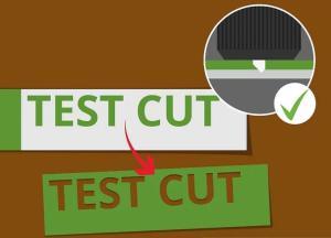 ¿Cómo utilizar el plotter de corte para cortar el vinilo?
