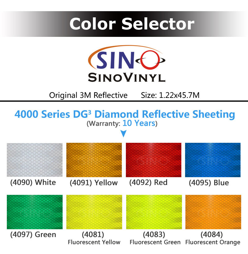 3M 3430 EGP Engineering Grade Reflective Sheeting
