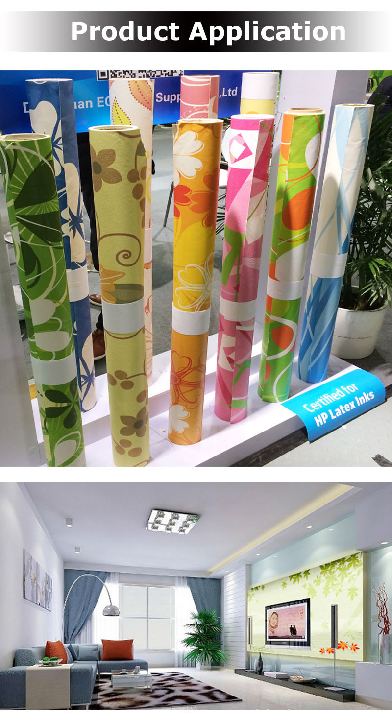 Eco Solvent UV Latex Inkjet Printing Graphic Wallpaper