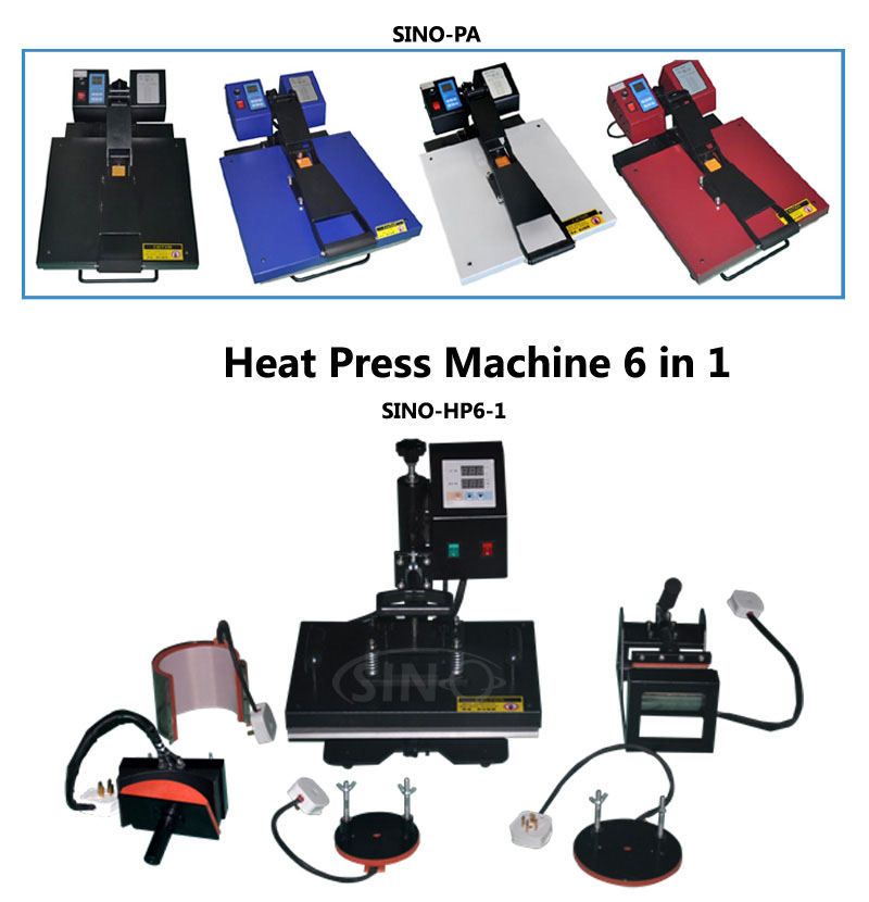 Sublimation Heat Transfer Flat T Shirt Heat Press Machine