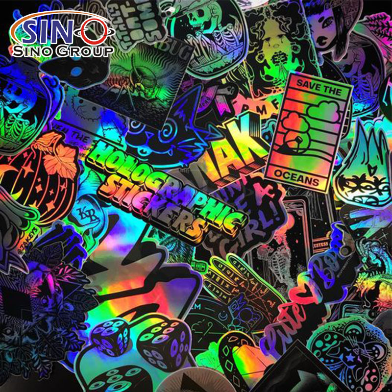 Chrome Laser Rainbow Self Adhesive Vinyl Film