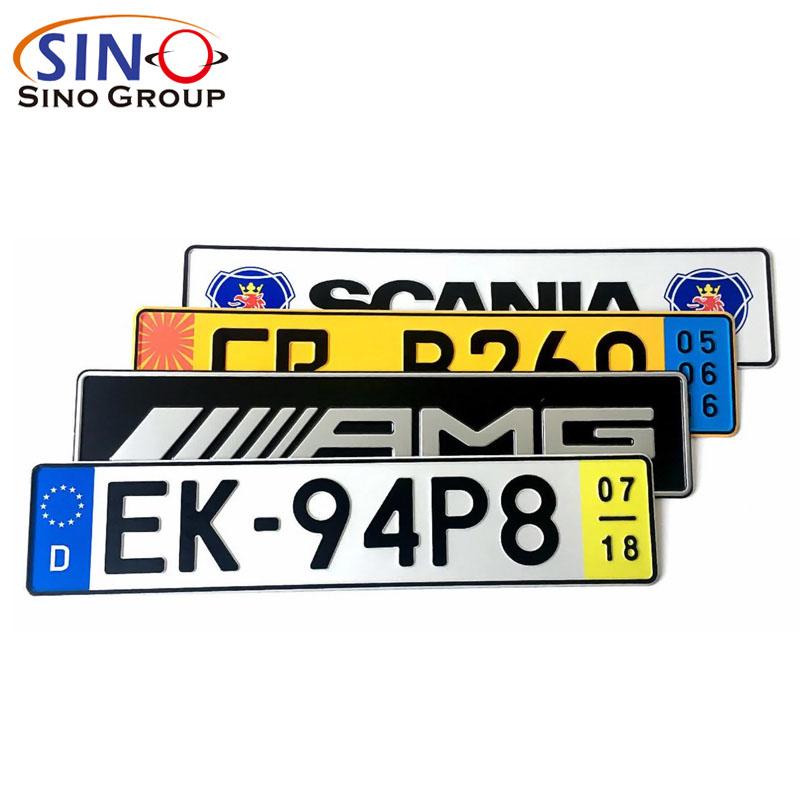 Fahrzeugkennzeichen Reflektierende Folie