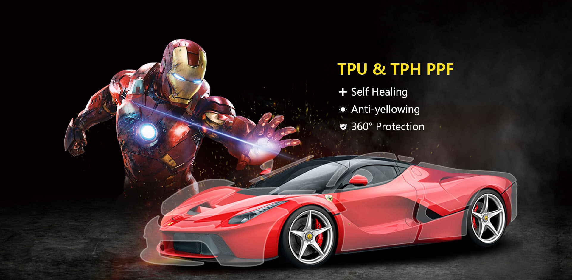 CARLIKE PPF TPU TPH Car Paint Protection Film