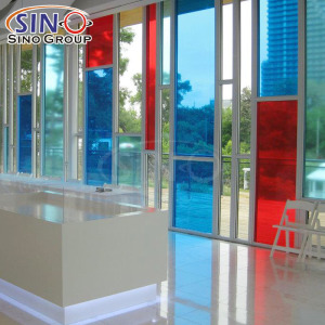 Translucent Vinyl Self Adhesive Signboard Semitransparent Film