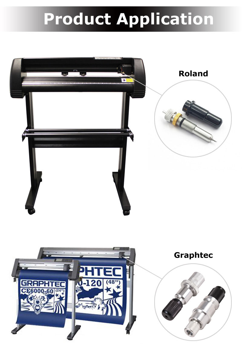 Graphtec Roland Mimaki Summa Blade Holder Vinyl Cutter Plotter