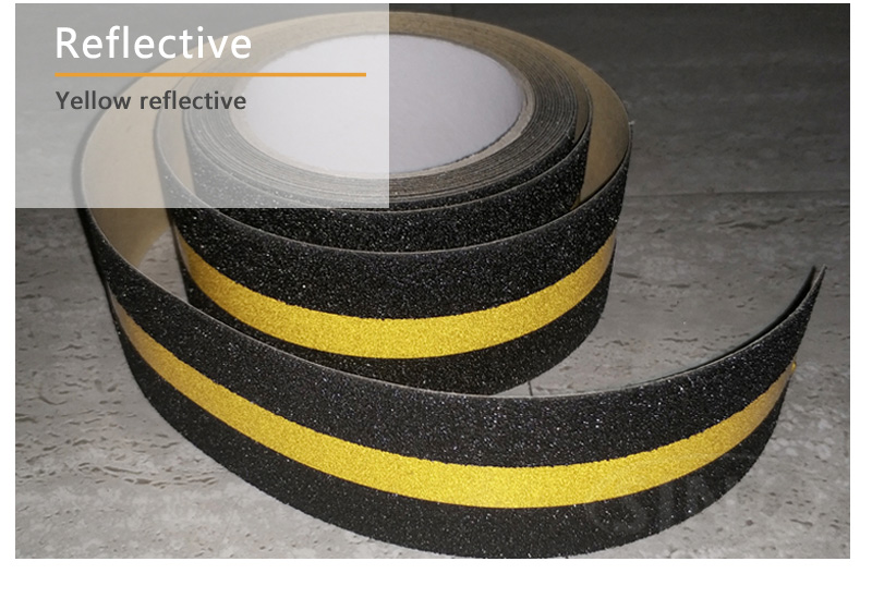 Colored Matte Sanding Reflective Photoluminescent Anti Slip Adhesive Tape