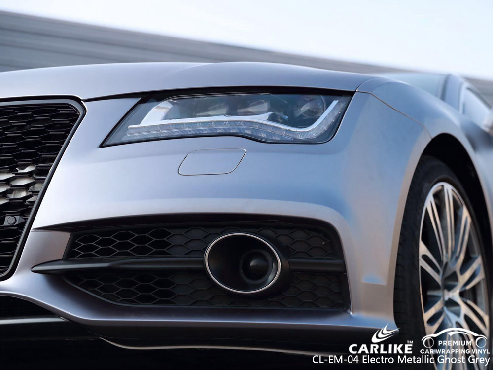 CARLIKE CL-EM-04 ELECTRO METALLIC GHOST GREY VINYL FOR AUDI