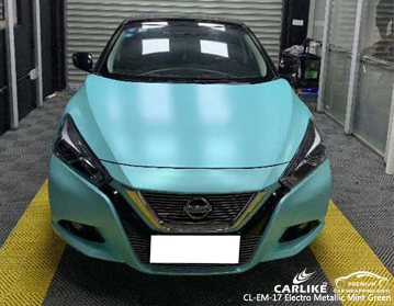 CARLIKE CL-EM-17 ELECTRO METALLIC MINT GREEN For Nissan