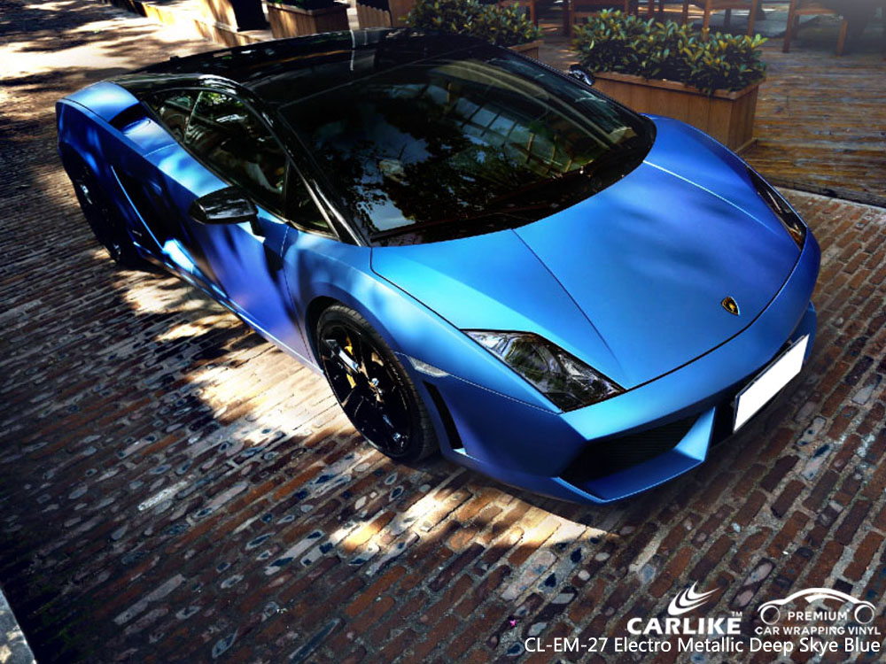 CARILIKE CL-EM-27 ELECTRO METALLIC DEEP SKY BLUE CAR WRAP VINYL