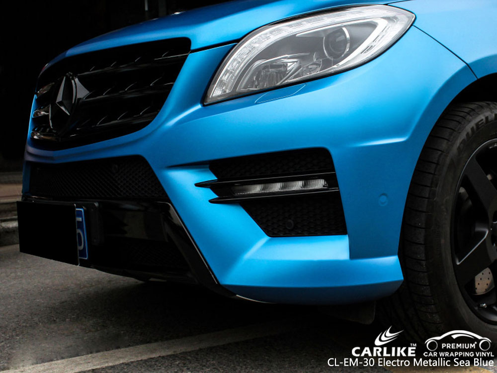 CARLIKE CL-EM-30 ELECTRO METALLIC SEE BLUE CAR WRAP VINYL