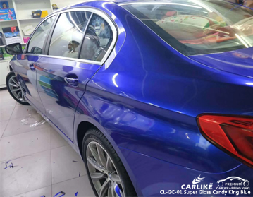 CARLIKE CL-GC-01 SUPER GLOSS CANDY KING BLUE CAR WRAP VINYL