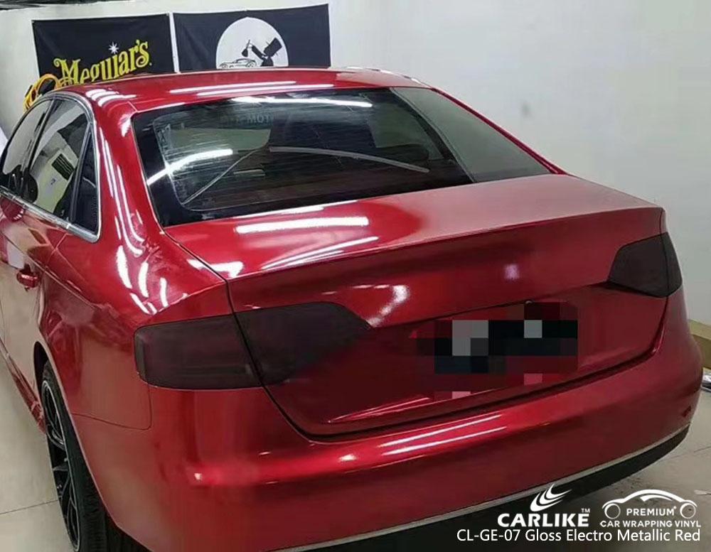 CARLIKE CL-GE-07 GLOSS ELECTRO METALLIC RED CAR VINYL