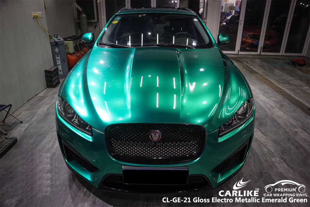 Carlike Cl Ge 21 Gloss Electro Metallic Emerald Green Car