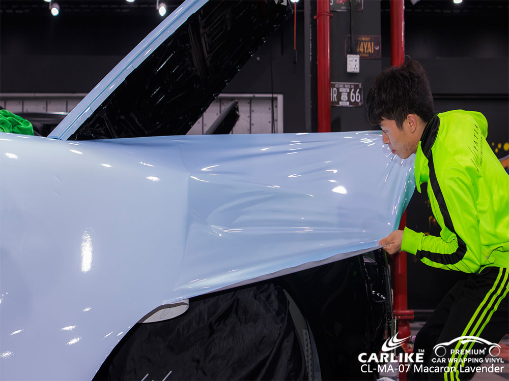 CARLIKE CL-MA-07 MACARON LAVENDER CAR WRAP VINYL