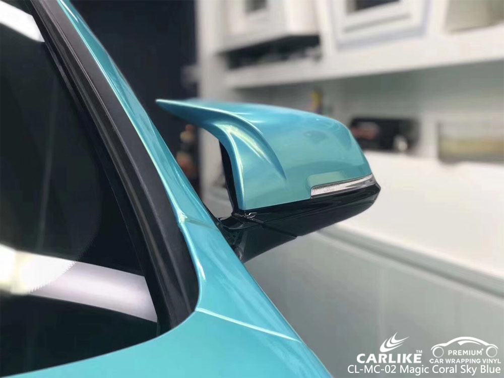 CARLIKE CL-MC-02 GLOSS MAGIC CORAL SKY BLUE FOR BWM