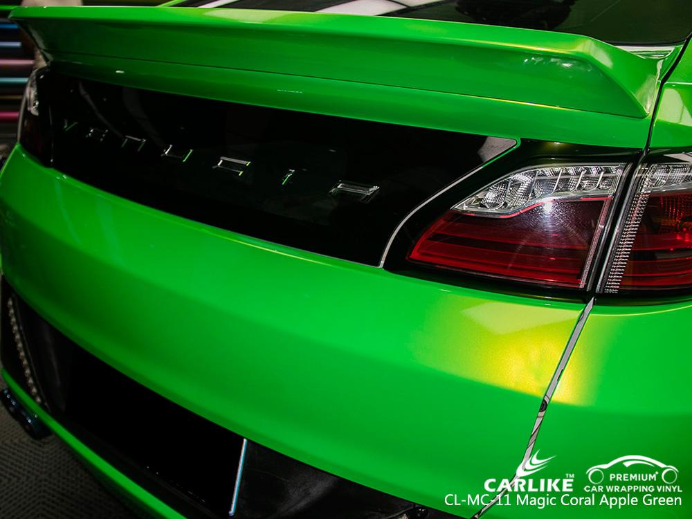CARLIKE CL-MC-11 MAGIC CORALAPPLE GREEN CAR WRAPPING VINYL